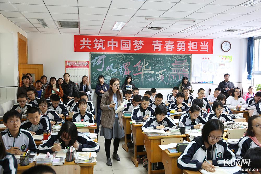 河北衡水中学集中接待活动迎来4000余名参观者