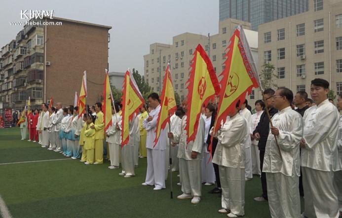 弘扬太极文化 石家庄青甫太极拳2018年会举行