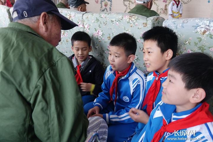 【我们的小学重阳】石家庄市节日街小学举办水源福山常熟中心图片