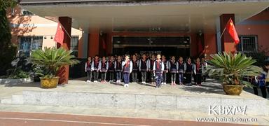 石家庄市槐北路小学举行庆祝第69个少先队建队日活动