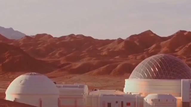 在地球上过外星生活:中国火星模拟生存基地公开亮相!