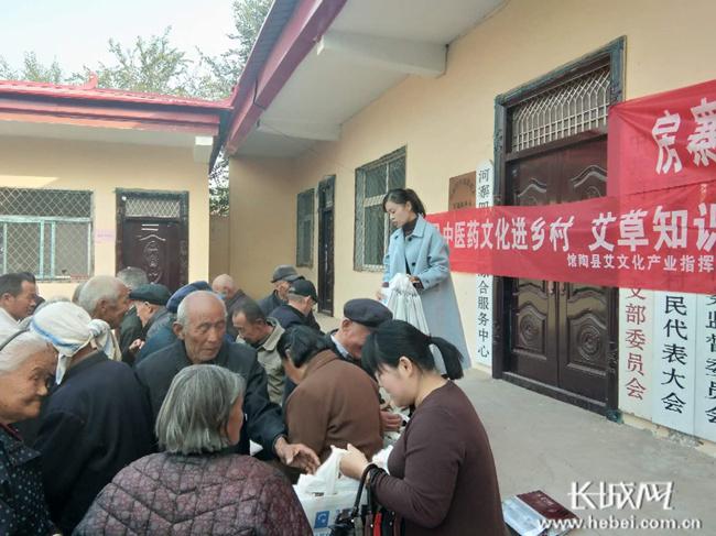 馆陶县开展艾健康知识及适宜技术进村惠民活动