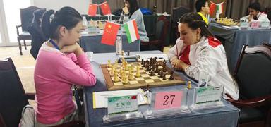 上合组织国家象棋公开赛第五轮结束 印度选手暂领先