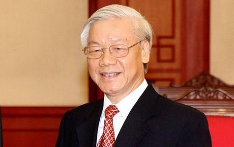 越共中央总书记阮富仲当选越南国家主席