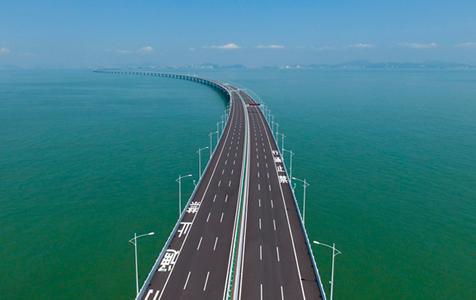 航拍港珠澳大桥