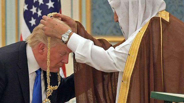 扒一扒特朗普与沙特王室经济来往