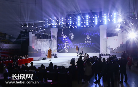 【高清组图】裘皮服装设计大赛在枣强举行