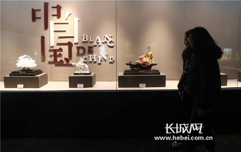 瓷魅石韵——福建德化陶瓷与寿山石雕艺术作品展亮相秦皇岛