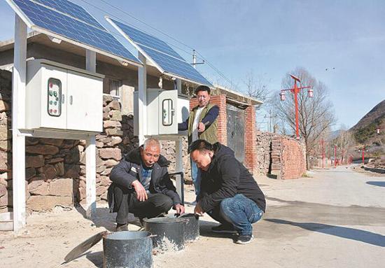 太阳能污水处理改善农村用水环境