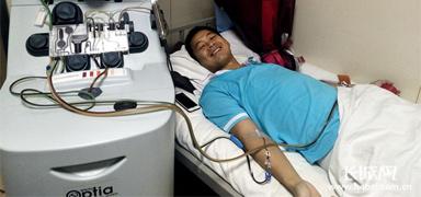 石家庄帅小伙儿捐献干细胞救治19岁男孩