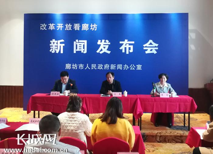 【改革开放看廊坊】廊坊:全市生产总值近3000亿元