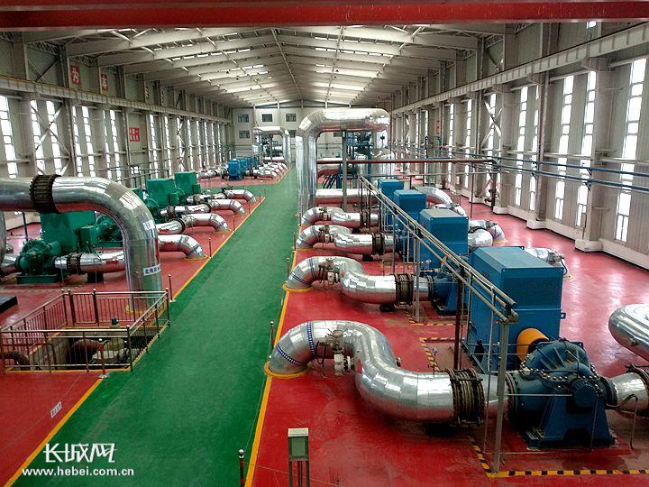 电厂废热成石家庄主城区最大清洁热源
