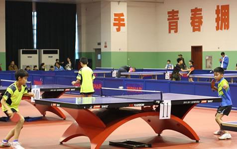 2018年全国青少年体育冬夏营(石家庄站)乒乓球项目闭营