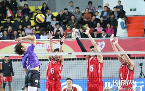 【高清图组】排超联赛:河北男排主场2:3不敌天津全运村男排