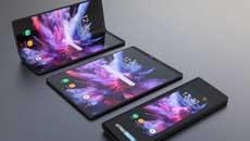 传Galaxy X可折叠手机屏幕规格