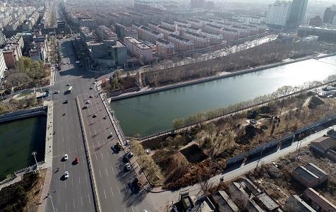 河北宣化修复宣化古城护城河