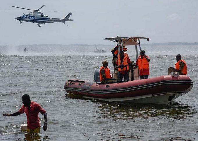 乌干达发生沉船事故