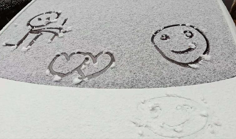 石家庄迎来今冬首场雪 道路实况安全出行点进来