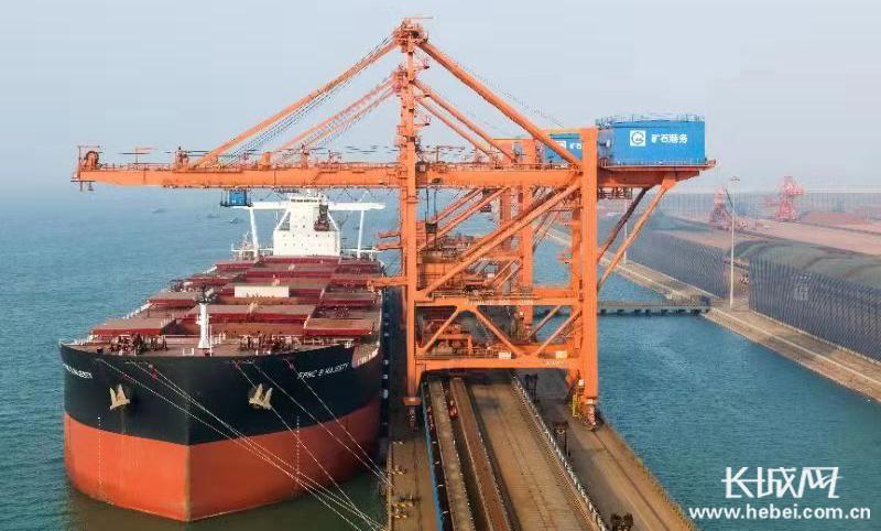 沧州黄骅港20万吨级矿石码头顺利实现达产