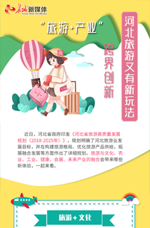 """【图解】""""旅游+产业"""" 跨界创新 河北旅游又有新玩法!"""