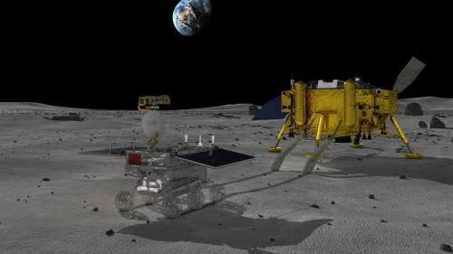 """""""嫦娥""""四号升空!中国完成人类探测器首次月球背面着陆"""