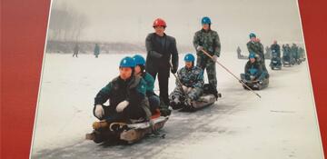 纪念改革开放四十周年河北电力纪实摄影展在河北博物院开展