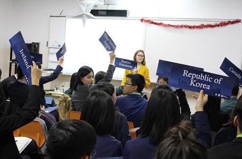 500余名师生体验模拟联合国大会