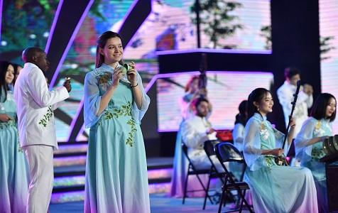 外国留学生杭州展才艺