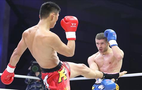 【高清图组】河北两名选手进入自由搏击职业联赛总决赛