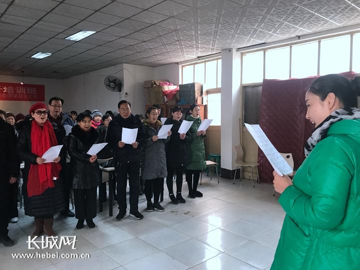 河北赞皇老党员为改革开放四十年谱新曲