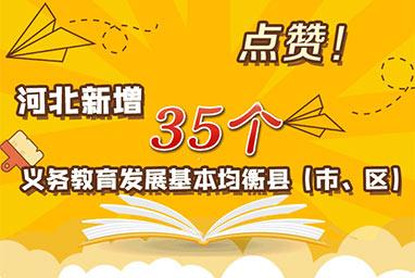 点赞!河北新增35个义务教育发展基本均衡县(市、区)