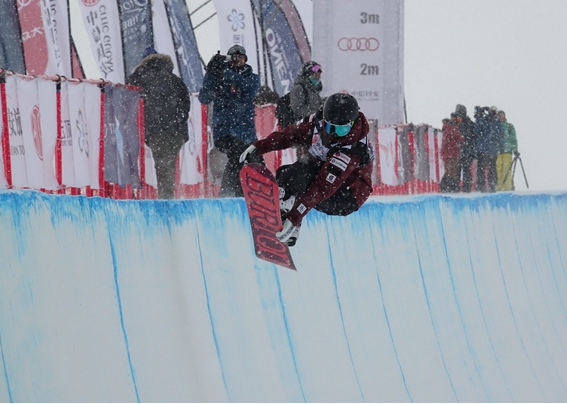 三场国际雪联世界杯陆续在崇礼开赛