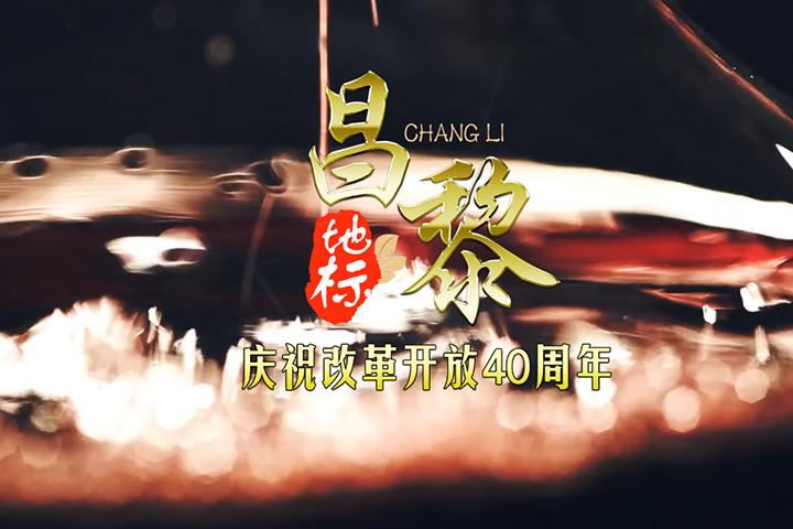 庆祝改革开放40周年地标系列微视频昌黎篇。
