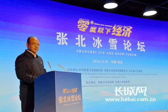 借力冬奥推动零度以下经济发展 首届中国·张北冰雪论坛开幕