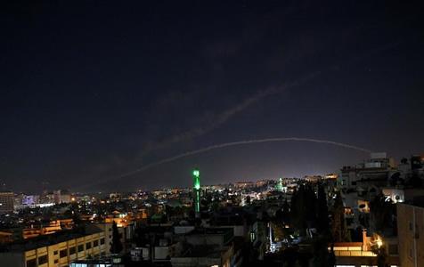 叙利亚军方称以色列对叙发动导弹袭击致3人受伤