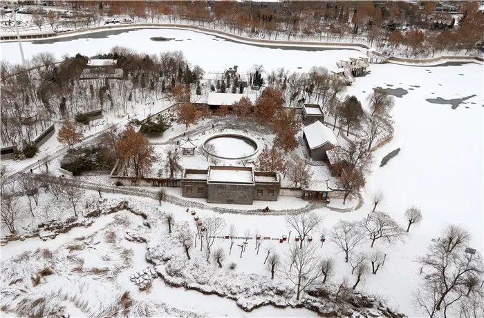 雪在飘!今天河北4地仍有雪!
