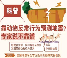 靠动物反常行为预测地震?不靠谱