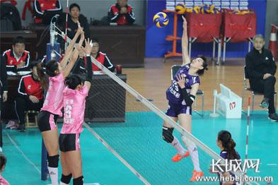 【高清图组】河北女排主场负于八一 袁心玥获单场MVP