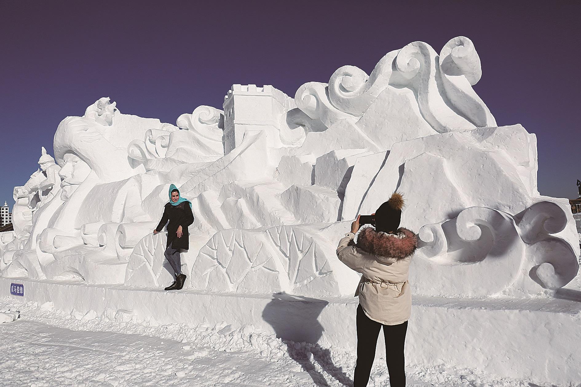 """承德市打造""""冰雪+""""产业带热冬季旅游"""