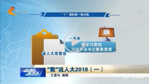 """""""数""""说人大2018(一)"""