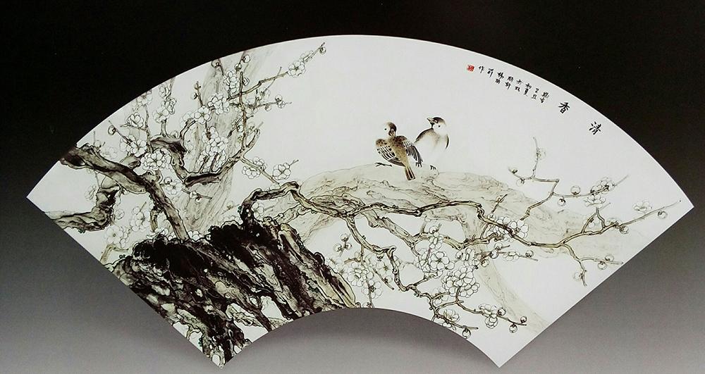 骨质瓷杨丽莉 聚焦瓷绘艺术