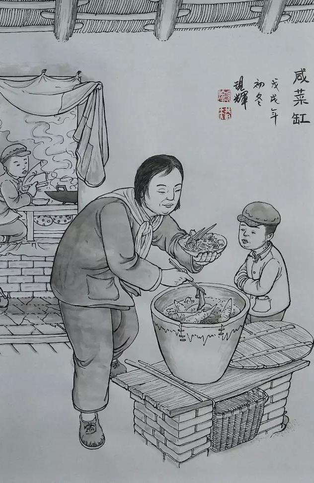 刘现辉:绘尽民俗风情 留下即将消逝的传统文化