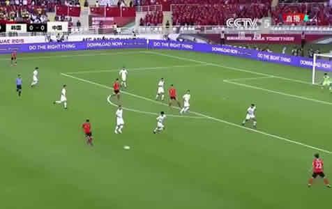 国足0-2负韩国队,小组第二出线