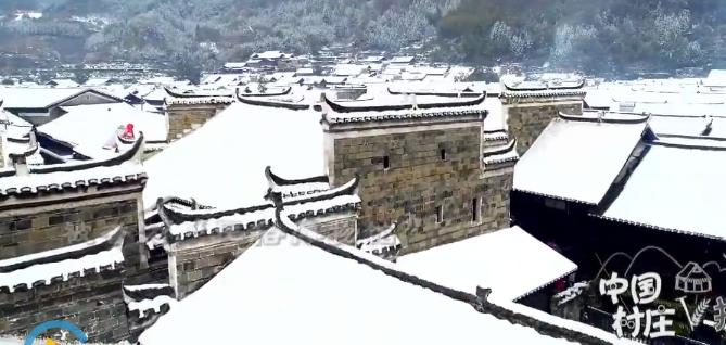 一个又冷又美的世外桃源!这个古村雪景超惊艳