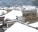 这个古村雪景超惊艳