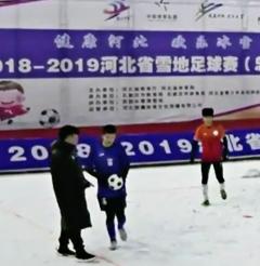 2018—2019年河北省雪地足球赛(总决赛)