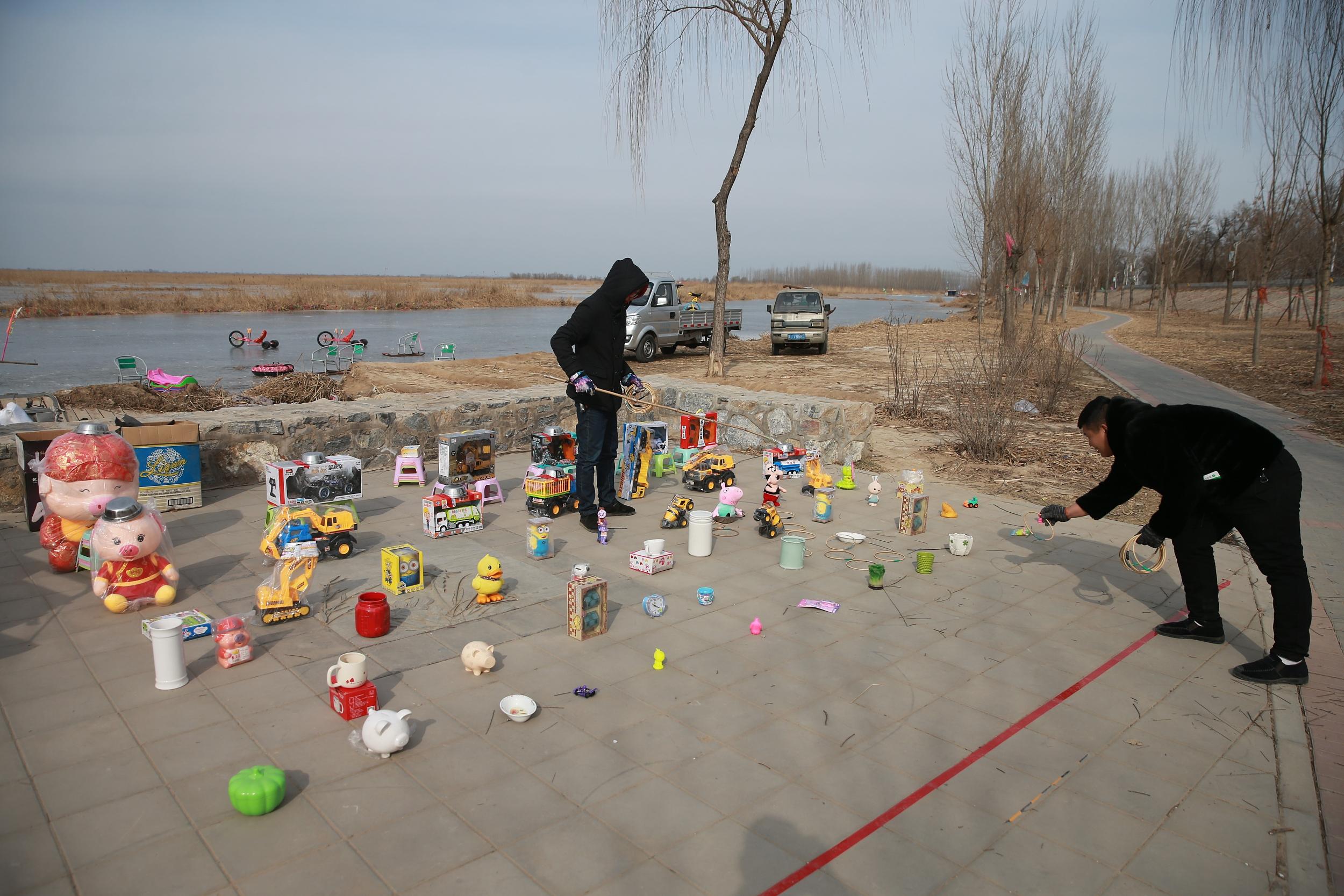 河北雄安:冬季白洋淀别有情趣情趣内衣青岛图片