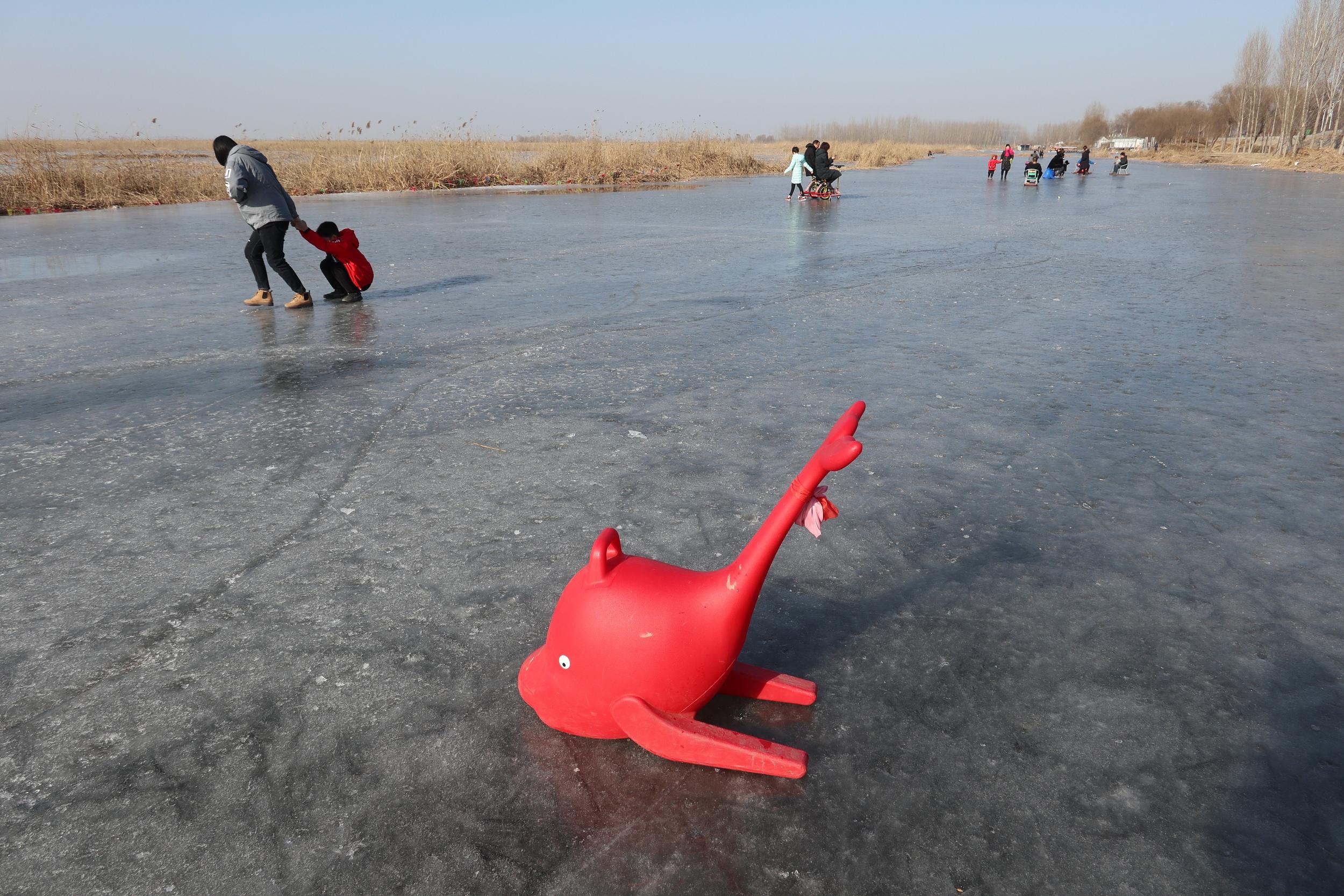 河北雄安:冬季白洋淀别有情趣动漫简单情趣图片大全图片