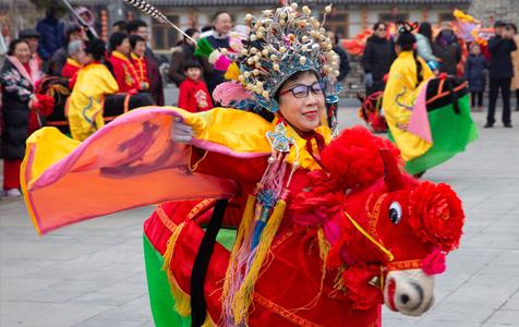 石家庄:多彩民俗闹新春