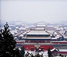 北京迎来明显降雪 雪景刷爆朋友圈